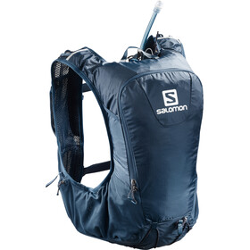 Salomon Skin Pro 10 Backpack Set poseidon/night sky